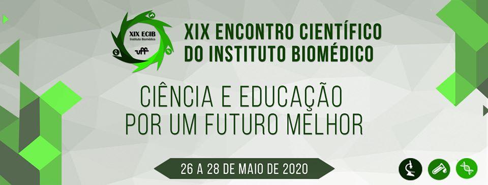 XIX Encontro Científico do Instituto Biomédico